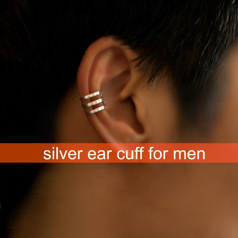 Ear Cuff Earring For Men Handmade