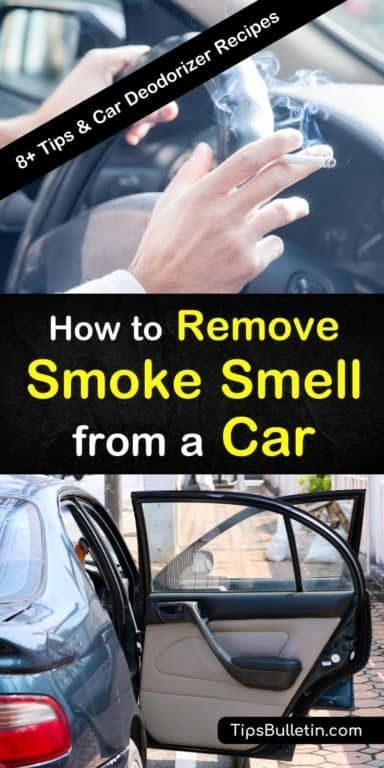 8 Clever Ways To Remove Smoke Smell From A Car Smoke Smell Car