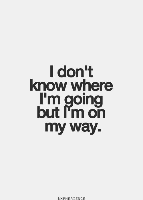 Er zijn vele wegen om te worden wie je wilt zijn. Soms neem je een zijweg om te falen en daarvan leren, maar je zult altijd komen waar je wilt zijn.