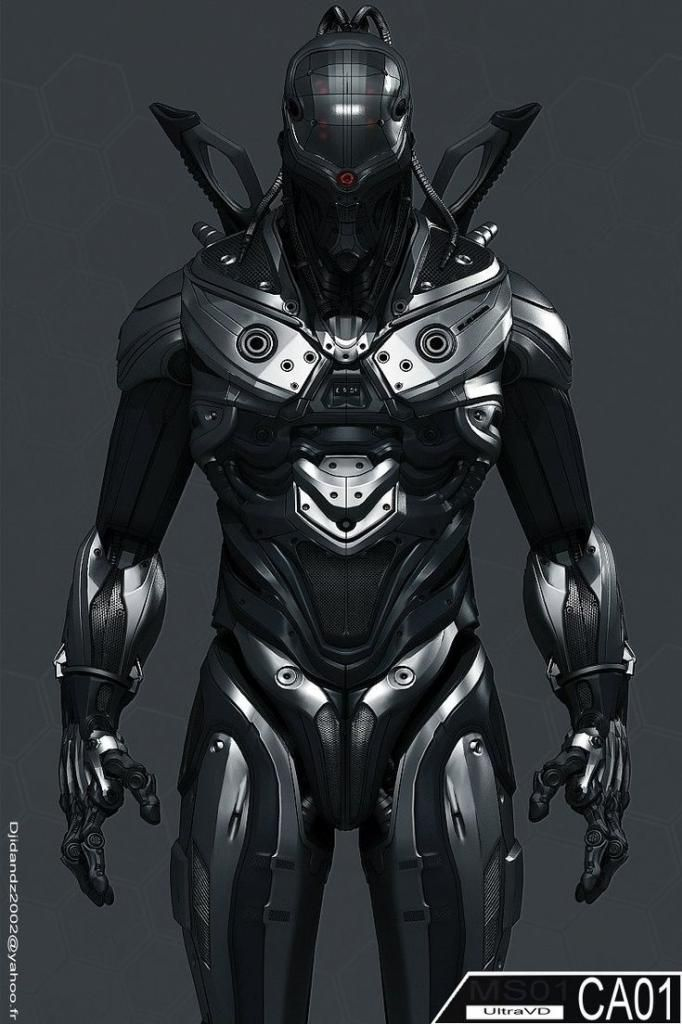 Image result for Cool metal suits""