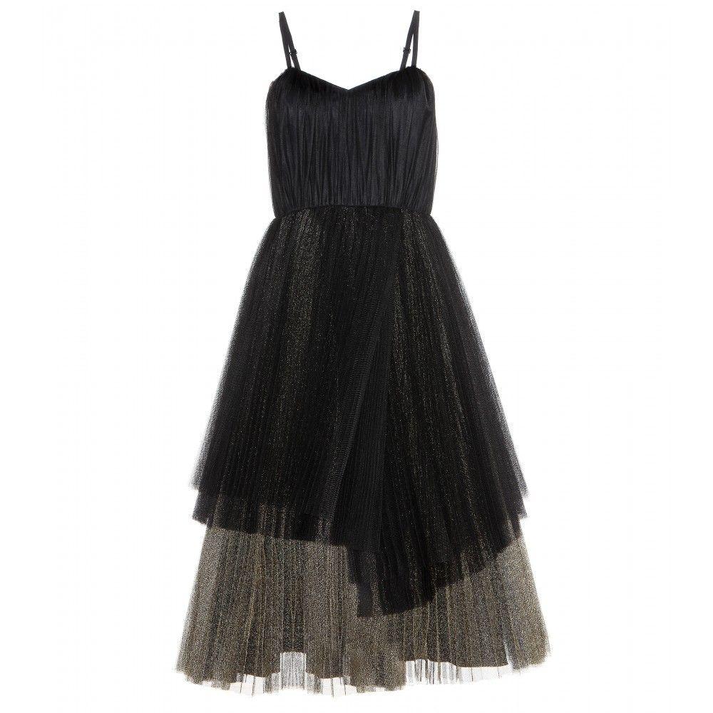 موديلات فساتين تل ناعمة Metallic Cocktail Dresses Black Cocktail Dress Tulle Evening Dress