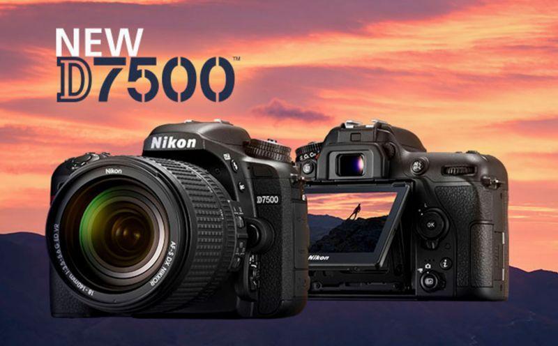 Nikon Announces The New Nikon D7500 A Baby D500 In 2020 Dslr Camera Camera Nikon Dslr Photography Tips