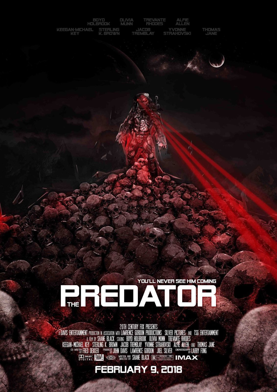 Image result for the predator movie poster september 14