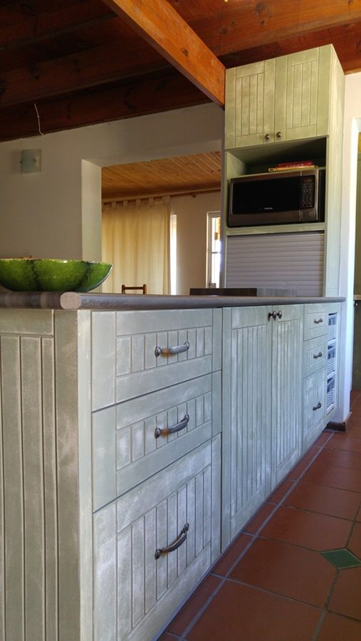 Country Style Kitchen With Paint Technique Kitchens Kitchen