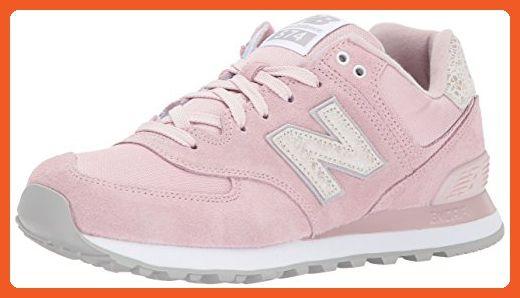 421662503bf12 New Balance Women's 574V1 Shattered Pearl Sneaker, Faded Rose ...