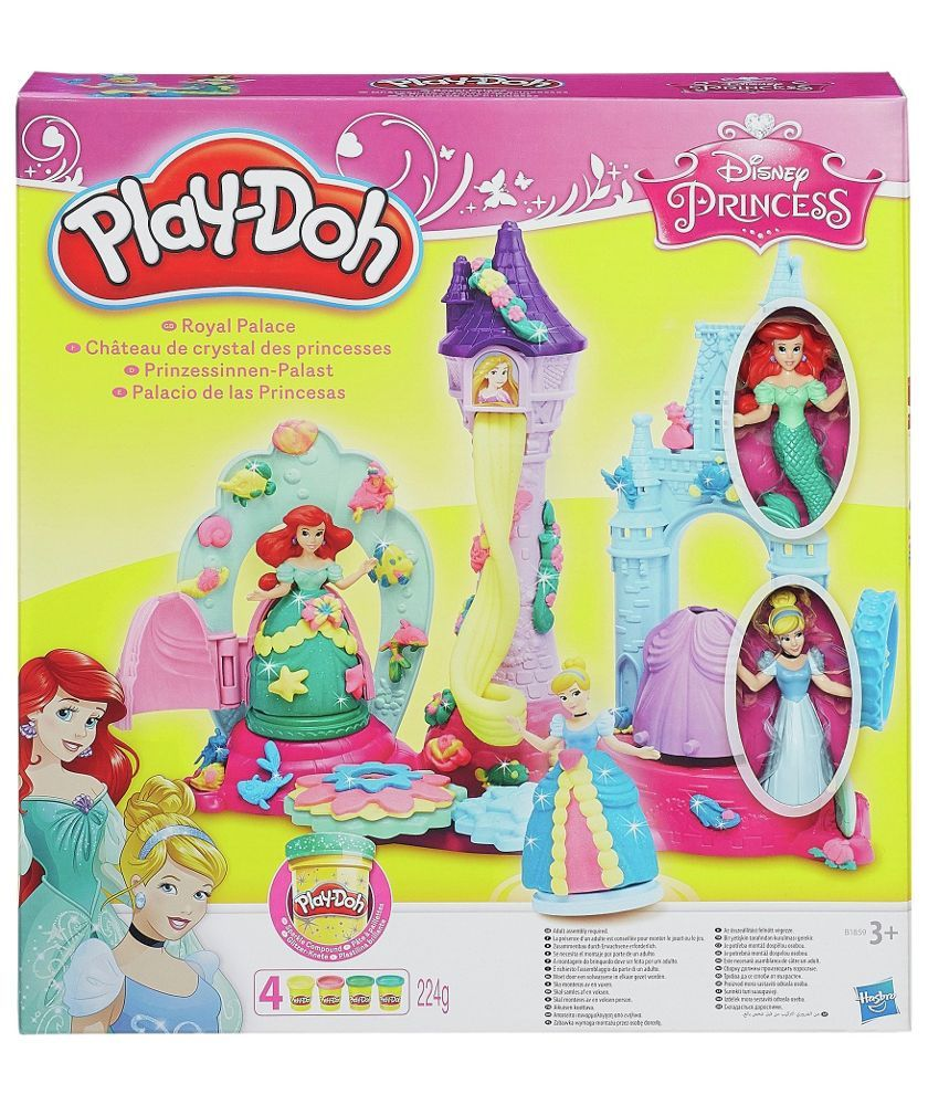 Buy Play-Doh Disney Princess Crystal Palace at Argos.co.uk - Your Online Shop for Arts, crafts ...