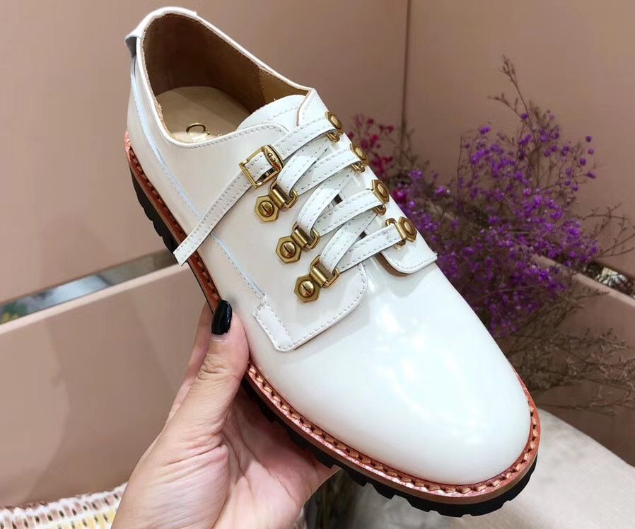 d8ac12ddc615 Dior Calfskin Leather Derby Shoes White 2018
