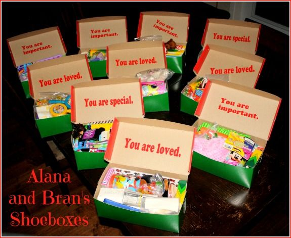 Kids Open Boxes For Shoe Box Appeal