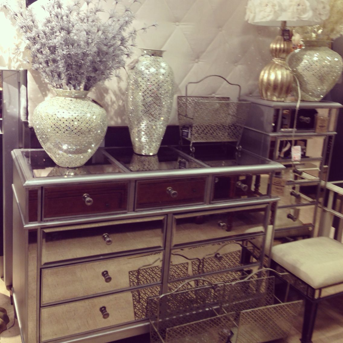 hayworth collection mirrored furniture. Hayworth Bedroom Collection Mirrored Furniture E