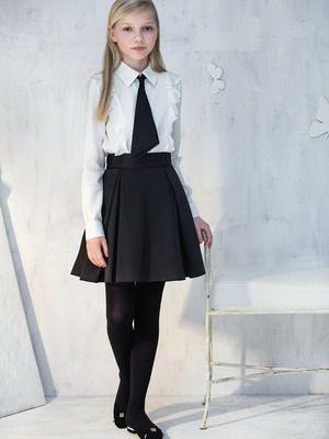 Школьная форма 2017 для девочек-подростков и фото модной ...