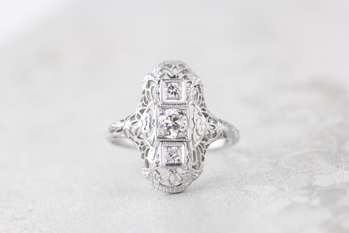 Heres How Amazing Refurbished Engagement Rings Can Be Art deco