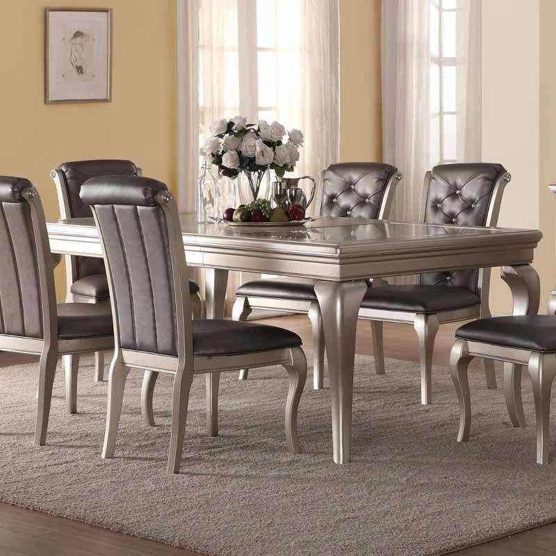 Good Quality Affordable Furniture: B508 Dining Table In Silver