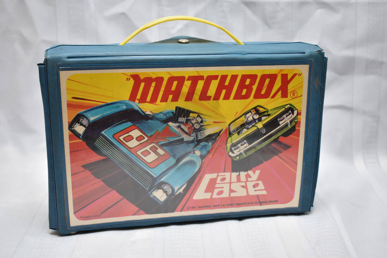 Vintage Matchbox Carry Case 1971 Holds 24 cars, Matchbox