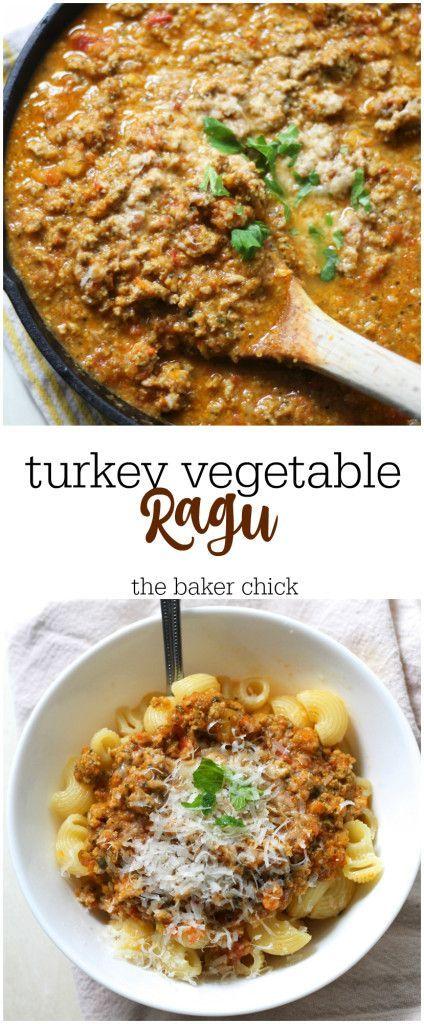 Turkey Vegetable Ragu   Recipe   Turkey mince recipes ...