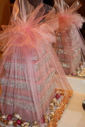 #afghan engagement Afghan wedding This is a stacked candy box given to the grooms finally
