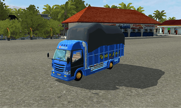 Truck Canter Wahyu Abadi Muatan Gayor Aplikasi 1 Truk Mobil Kendaraan