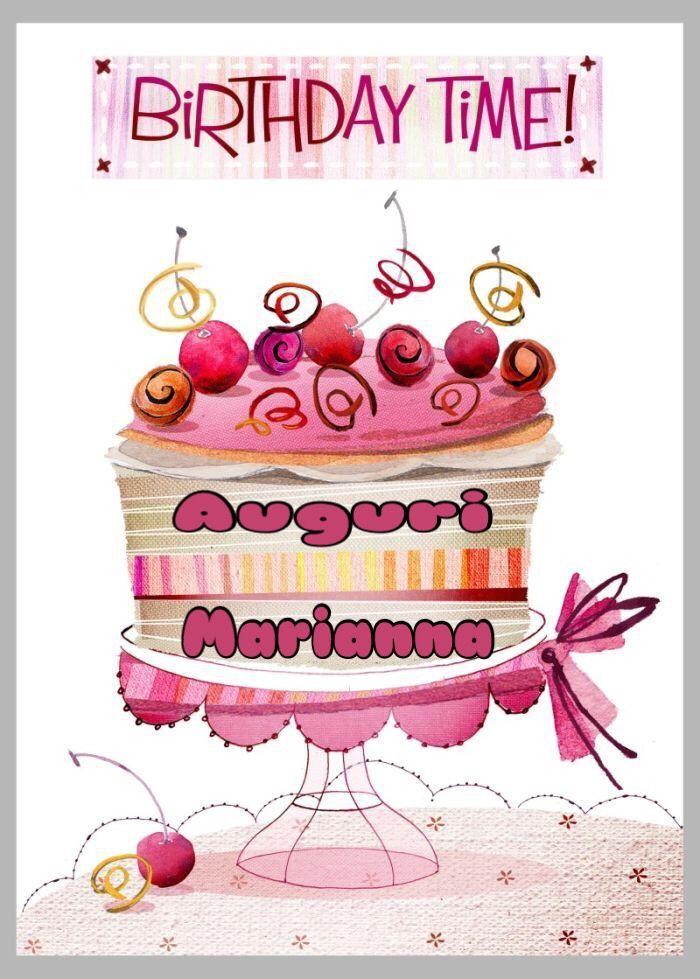 Buon Compleanno Marianna