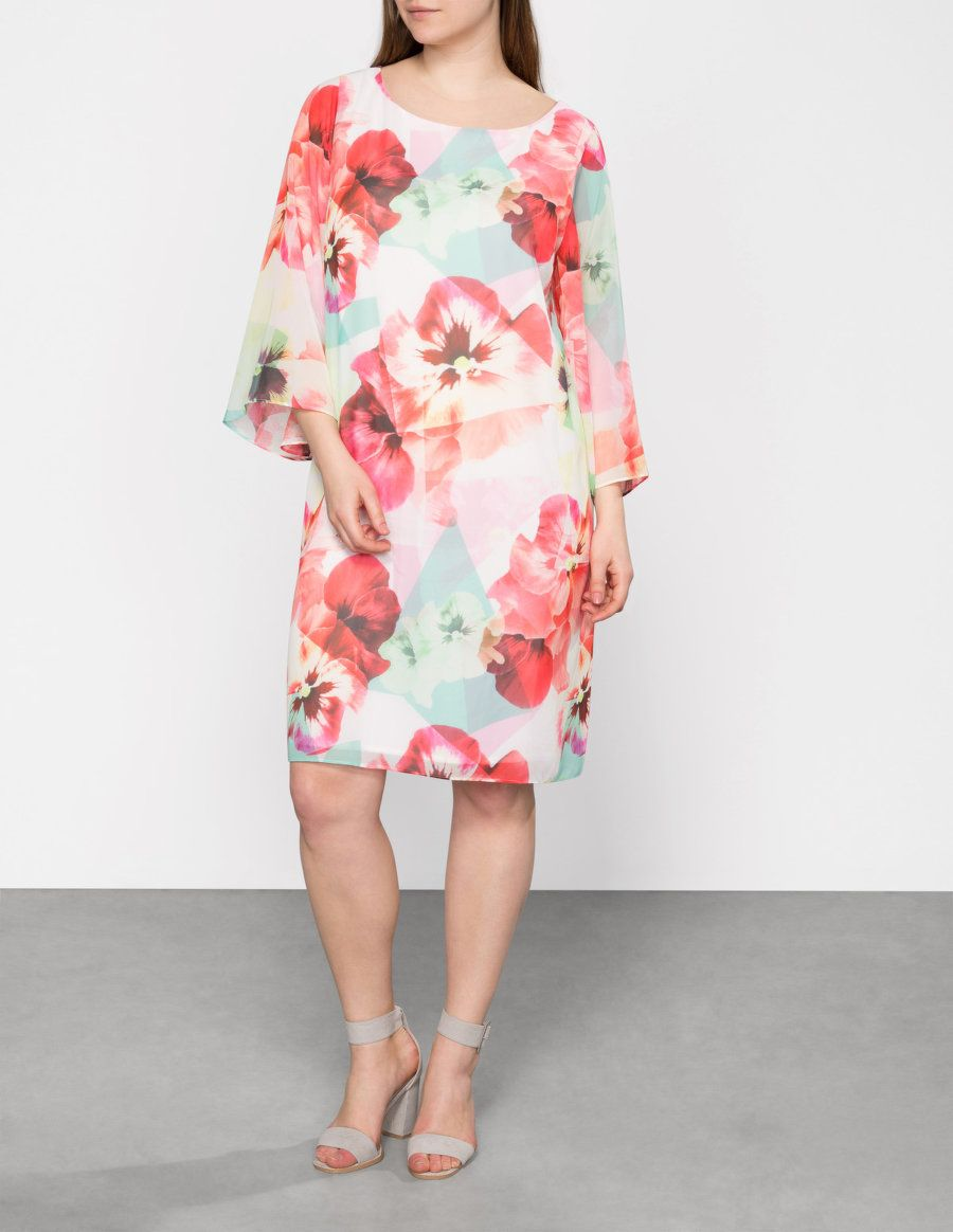 floral print chiffon dressbaylis and may. shop now