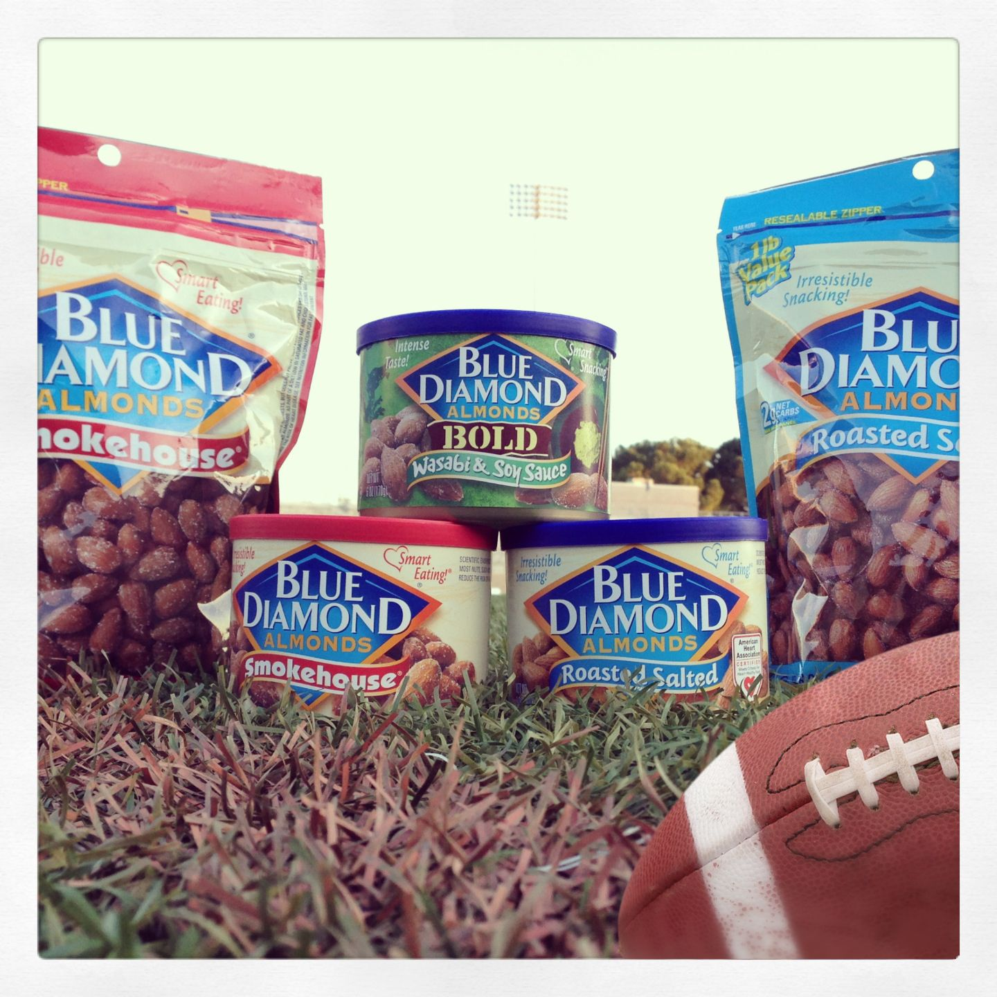 Tackle your hunger with a smart snack on Game Day! Smart