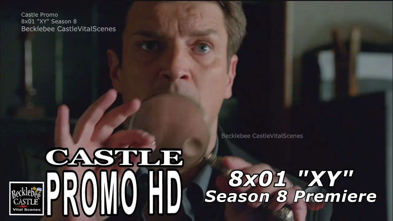 "Castle 8x01 Promo ""XY"" (HD) Season 8 Episode 1 promo"