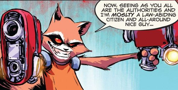 Rocket Raccoon #1 – Grand Prize at The Raid #2   The Uncanny Book-Club