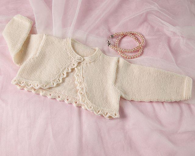 Baby Bolero Pattern By Angela Turner Knitting For Baby