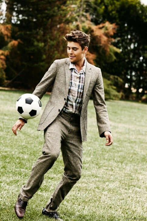 Soccer and zac...my 2 favorite things, I'm dying