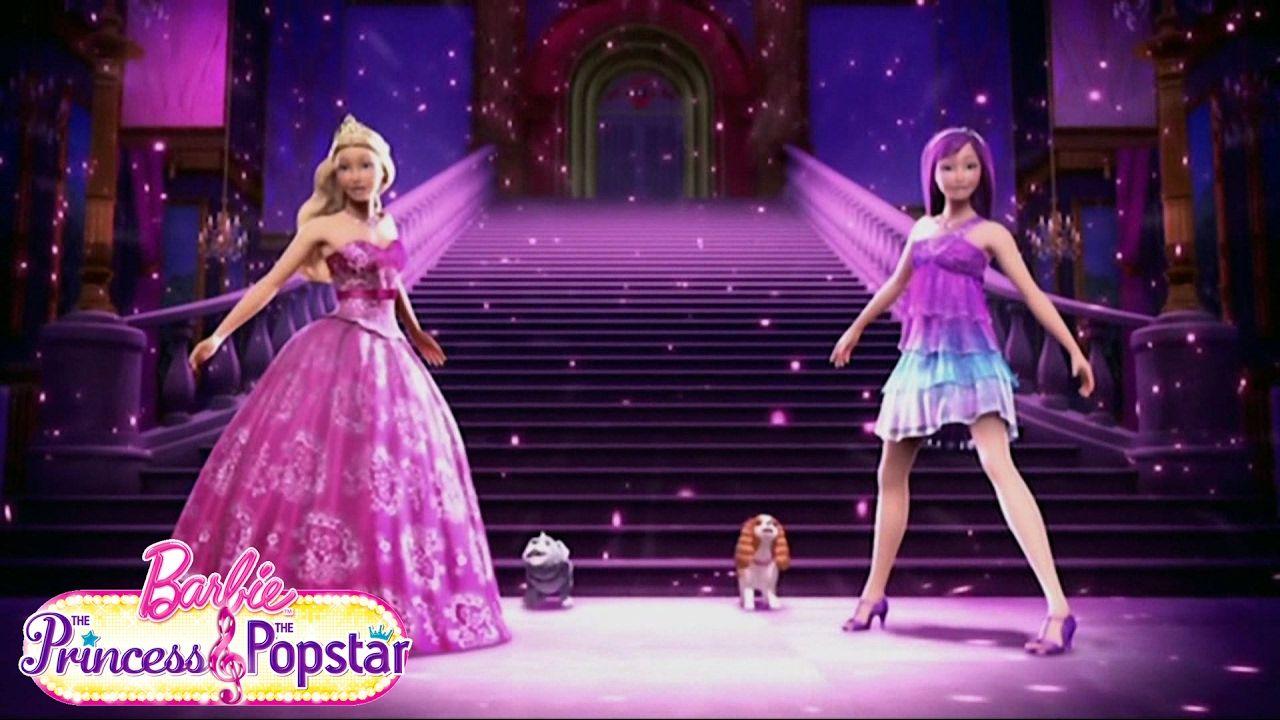 Pin De Chau Nguyen Em Princess And The Popstar Filmes Da Barbie Princesas Barbie Filmes