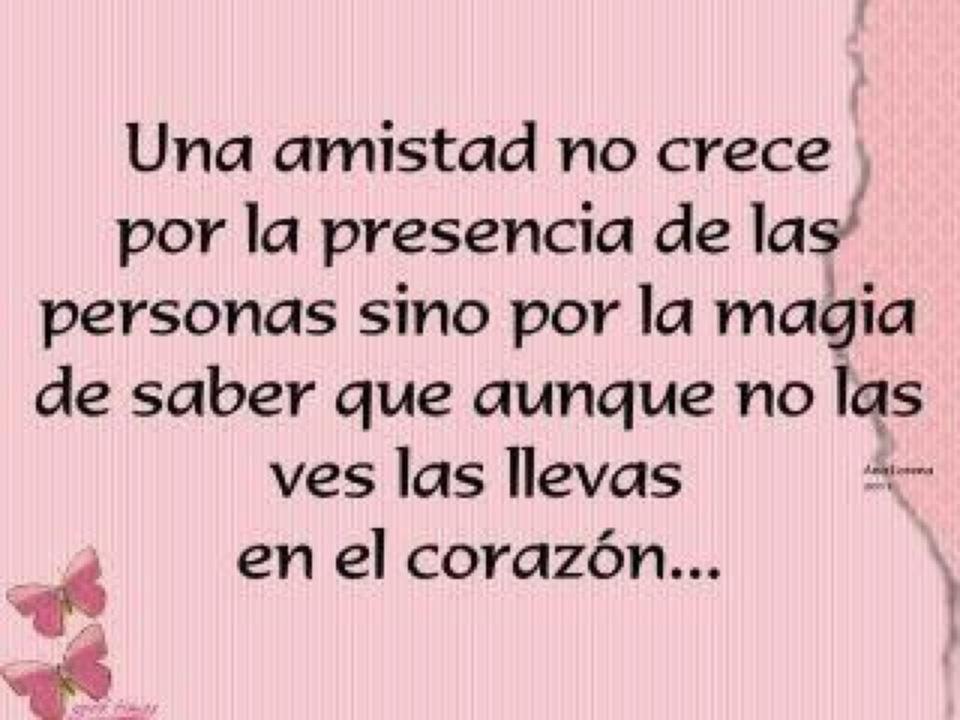 Una Amistad-- MUY CIERTO!! =) <3 IP. Frases De AmistadFrases Para ...