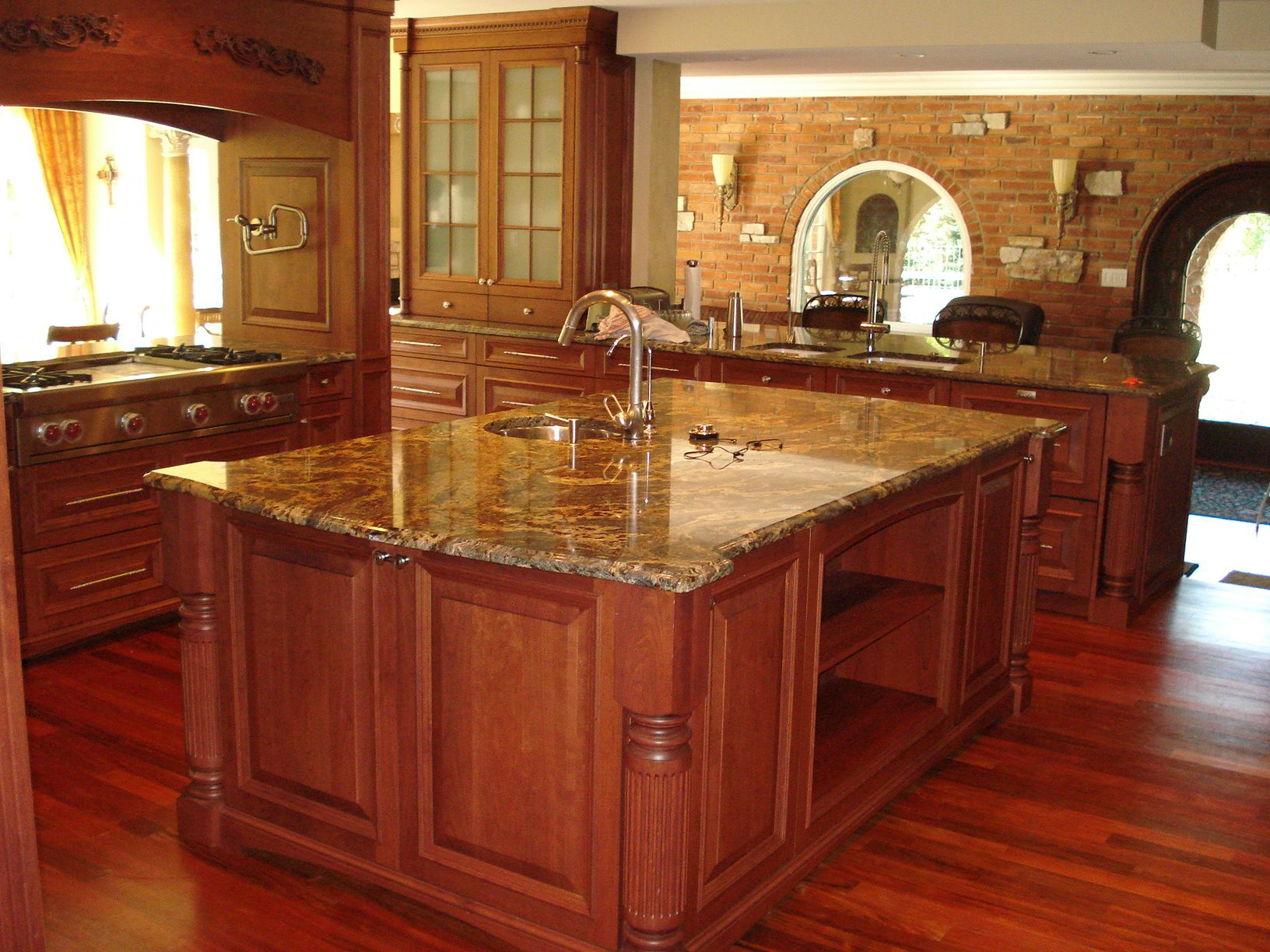 Kitchen island with quartz top - Kitchen Quartz Countertops With Oak Cabinets Quartz Countertops With Cabinets Kitchen Island With Sink And