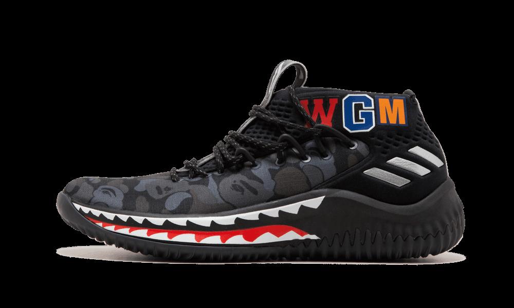 Adidas DAME4 BAPE Damian Lillard $195