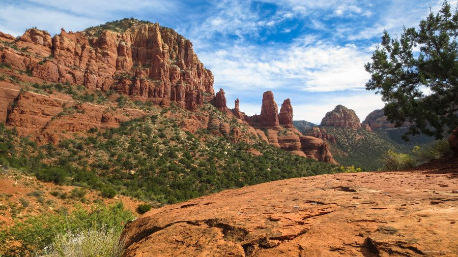 View from the Chapel of the Holy Cross - Sedona by nmsmith on deviantART