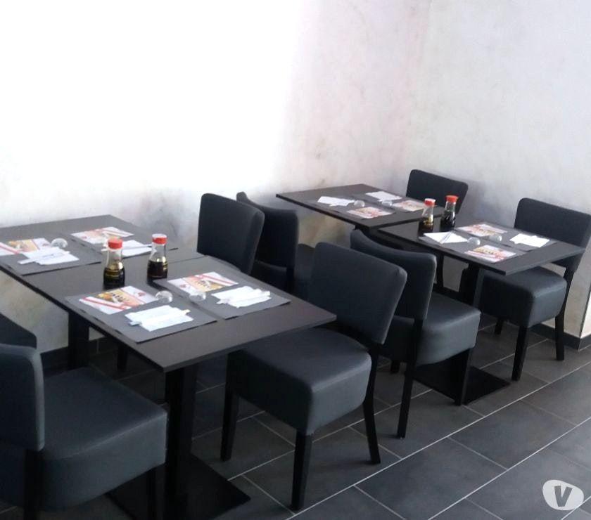 Chaise Et Table De Restaurant