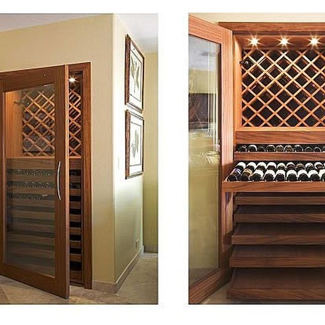 how to build a wine cellar in your closet beys cellar. Black Bedroom Furniture Sets. Home Design Ideas