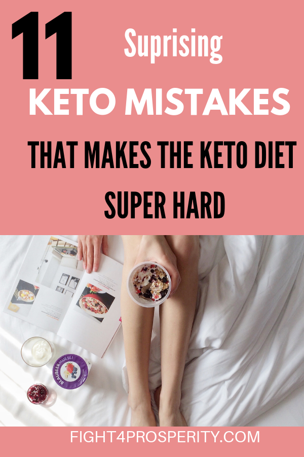 Keto Diet Mistakes That Prevent Ketosis