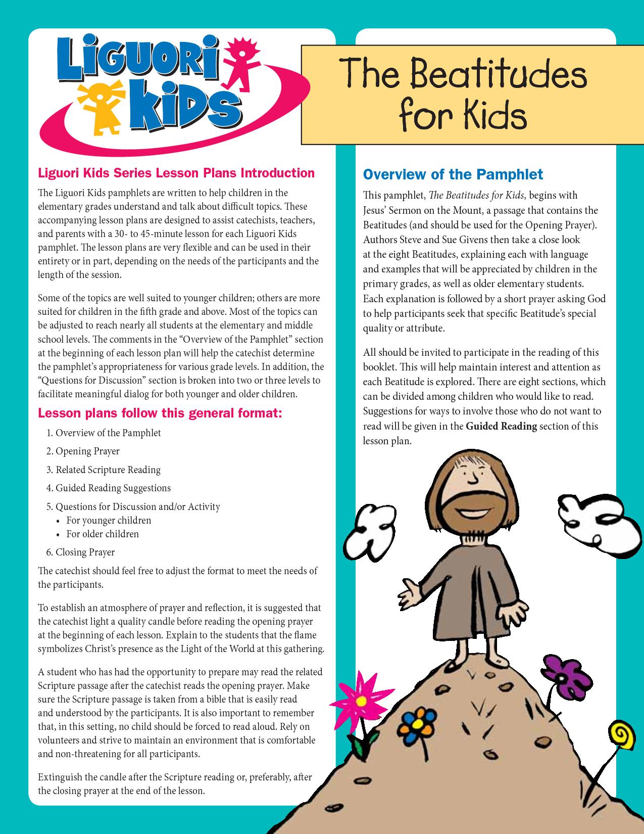 Beatitudes For Kids