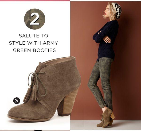 Ways To Wear Camo. Shop Tallie