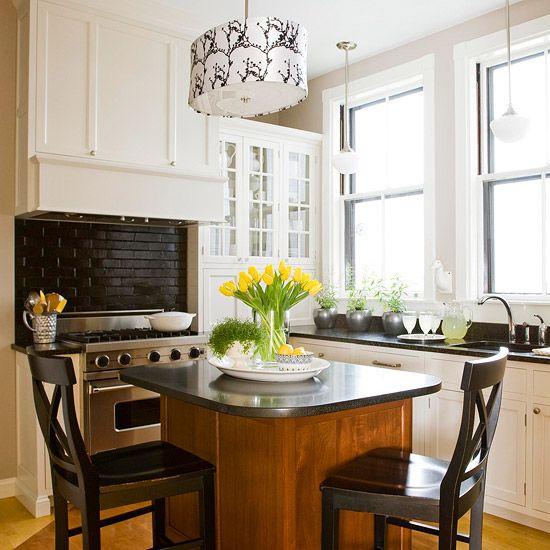 Kitchen Island Feet kitchen island designs we love | narrow kitchen island, island