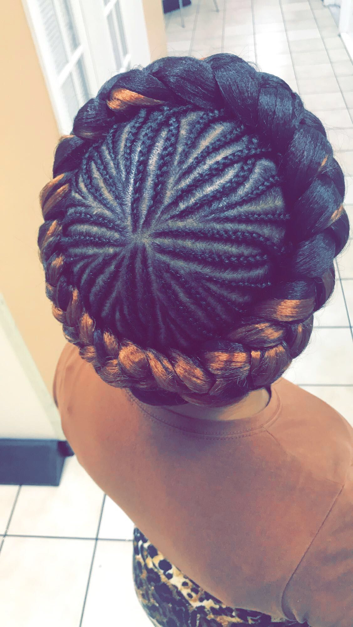 Crown Braids Cornrow Designs Braided Crown Hairstyles Braids