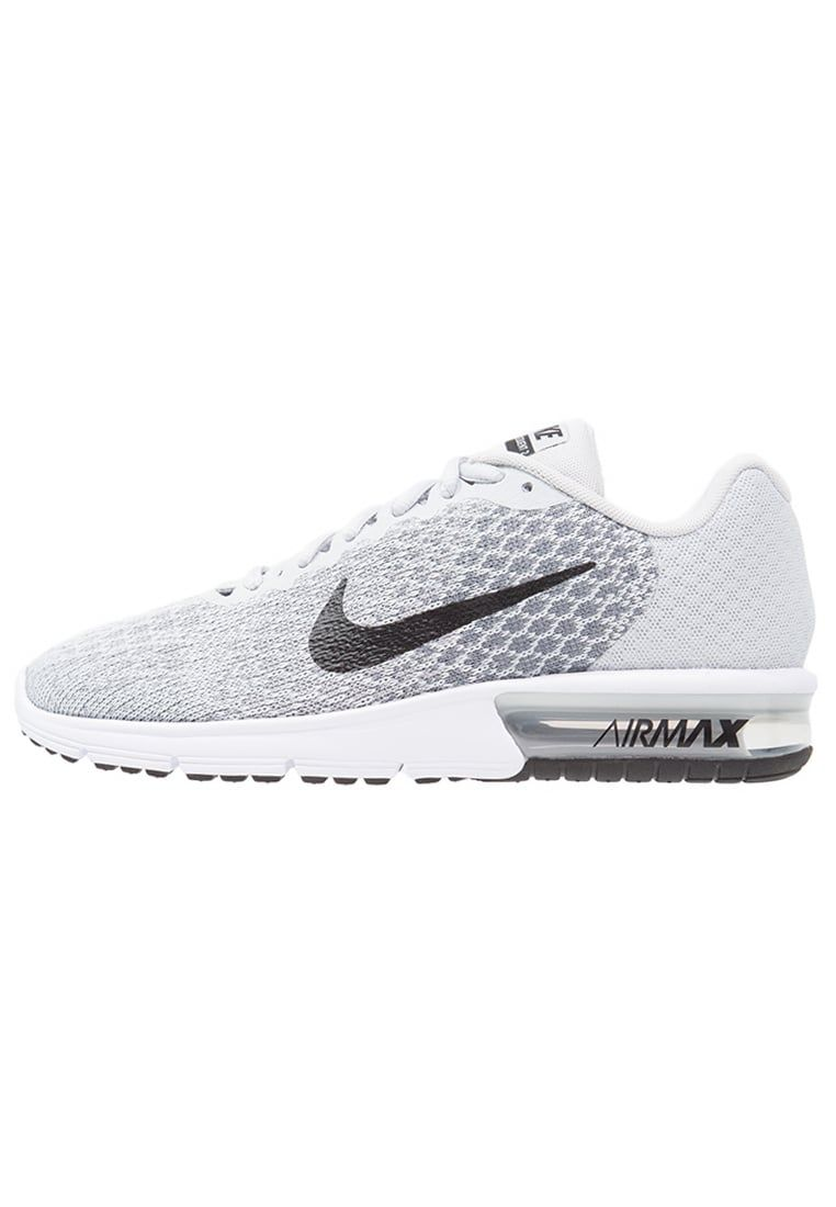 newest 8f53d fc291 Nike Performance AIR MAX SEQUENT 2 Zapatillas neutras pure platinum black  cool grey wolf grey white volt. Nike Performance AIR MAX SEQUENT 2  Zapatillas ...