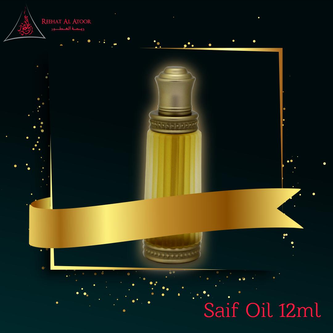 Saif Oil 12ml Reehat Al Atoor In 2021 Oils Natural Oils Fragrance