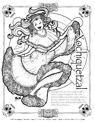ABCs of Lesser Known Goddesses   Coloring books, Coloring