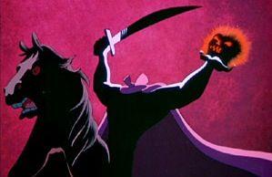 "The Headless Horseman from Disney's ""The Legend of Sleepy Hollow"""