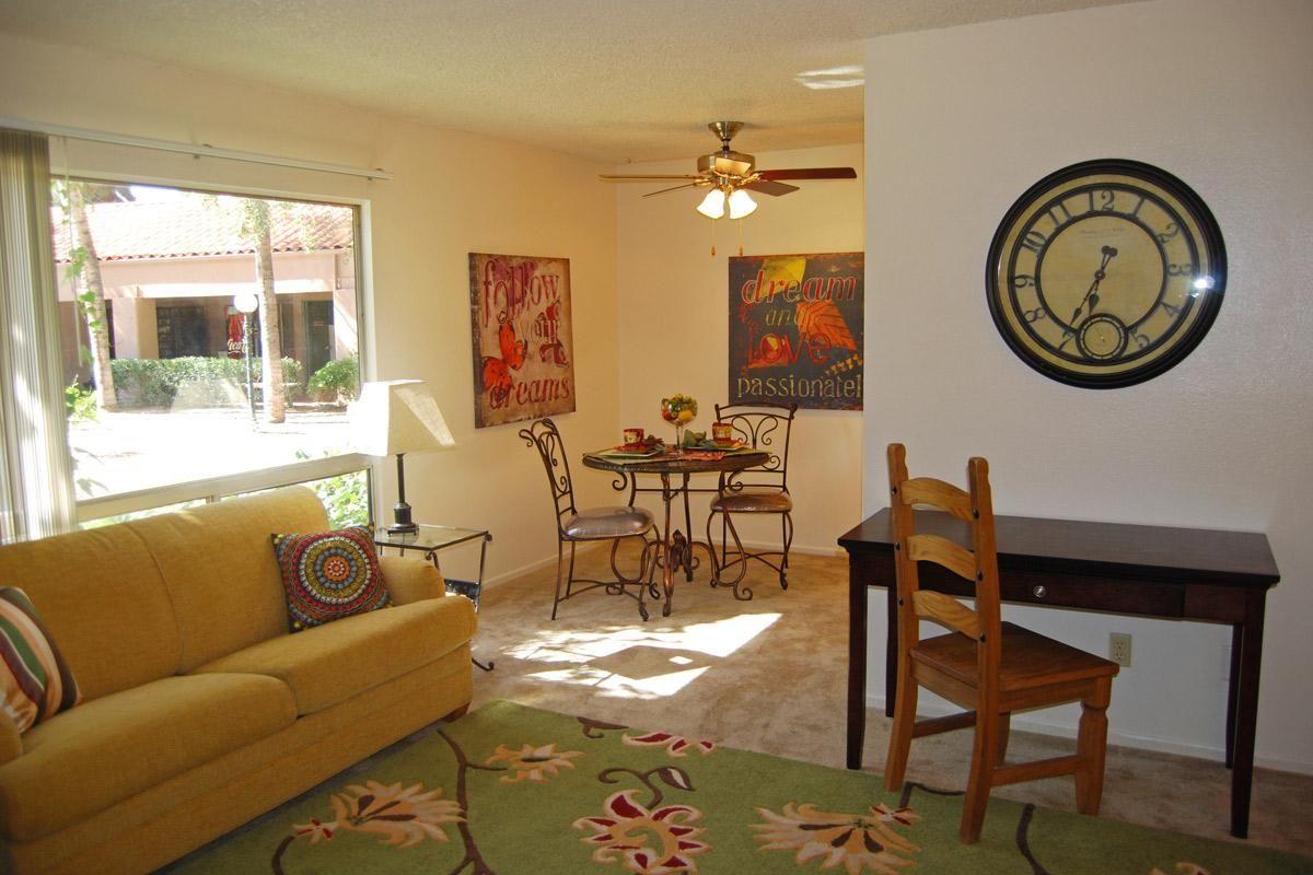 El Dorado Apartments In Tucson Arizona  Living Roomdining Room Interesting Eldorado Dining Room Review