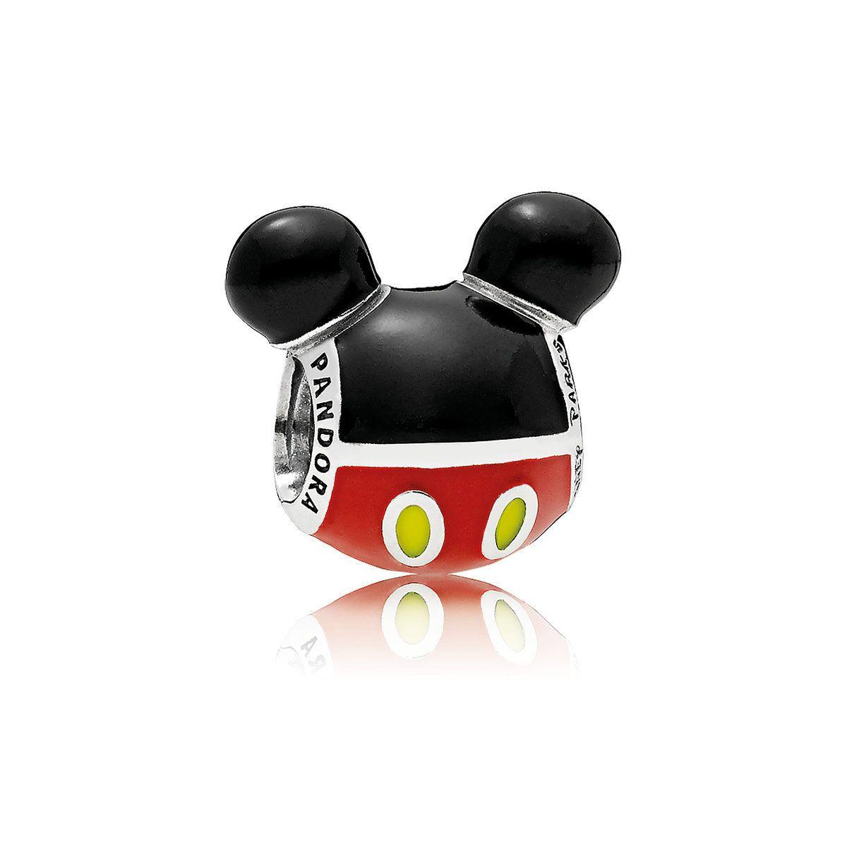 Mickey Mouse ''Playful'' Icon Charm - PANDORA | Pandora charms ...