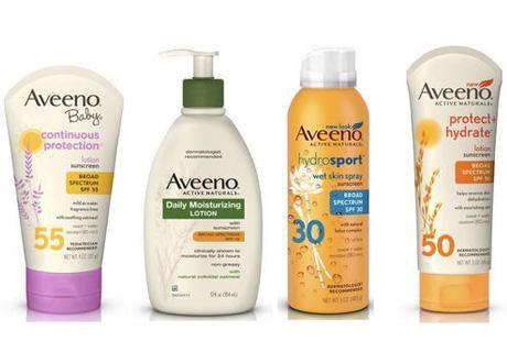 Save on Aveeno Sun Care!
