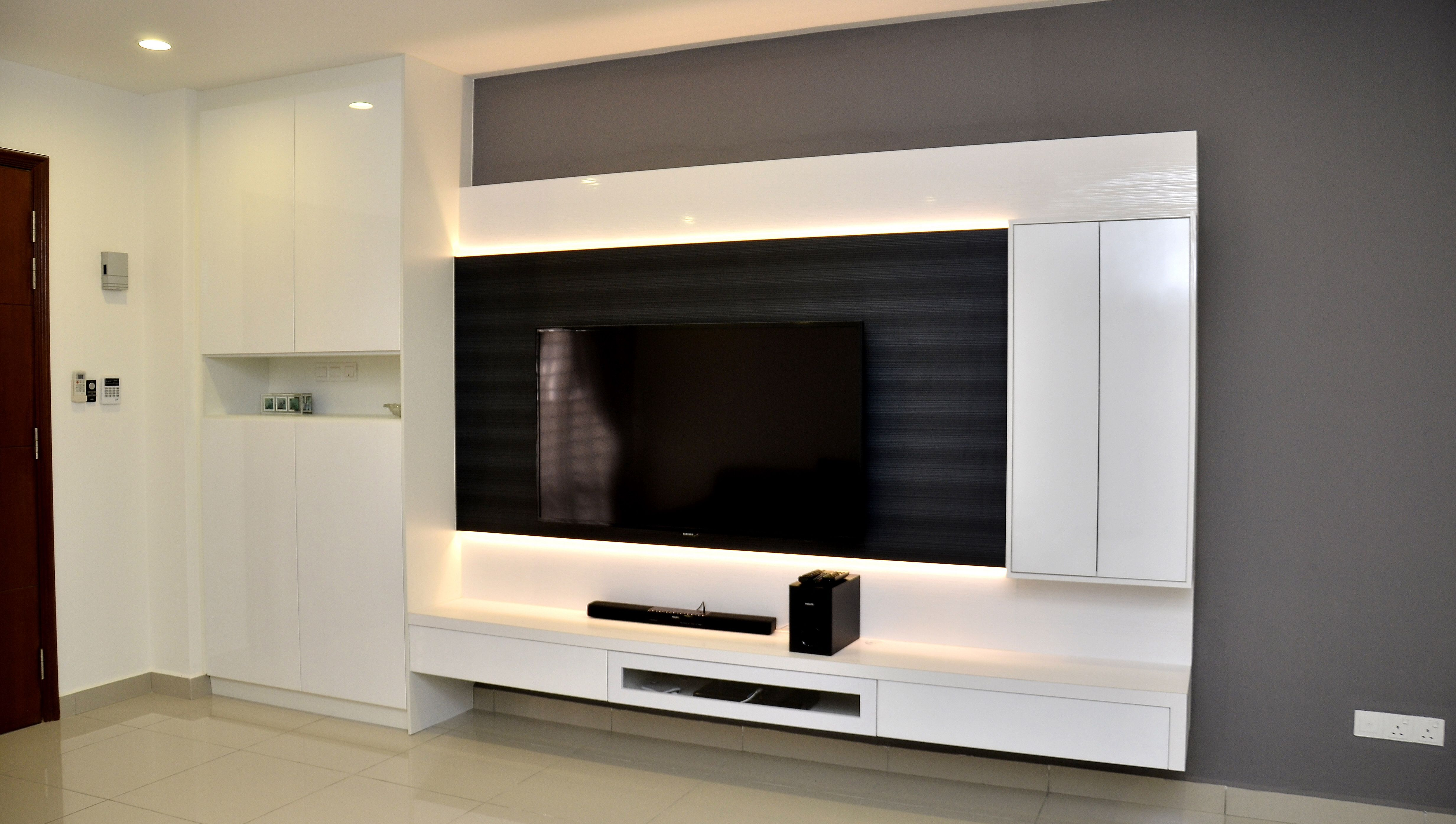 Living Room Cabinet Tvconsole Cabinet White Modern Livingroom Design Tv Cabinet