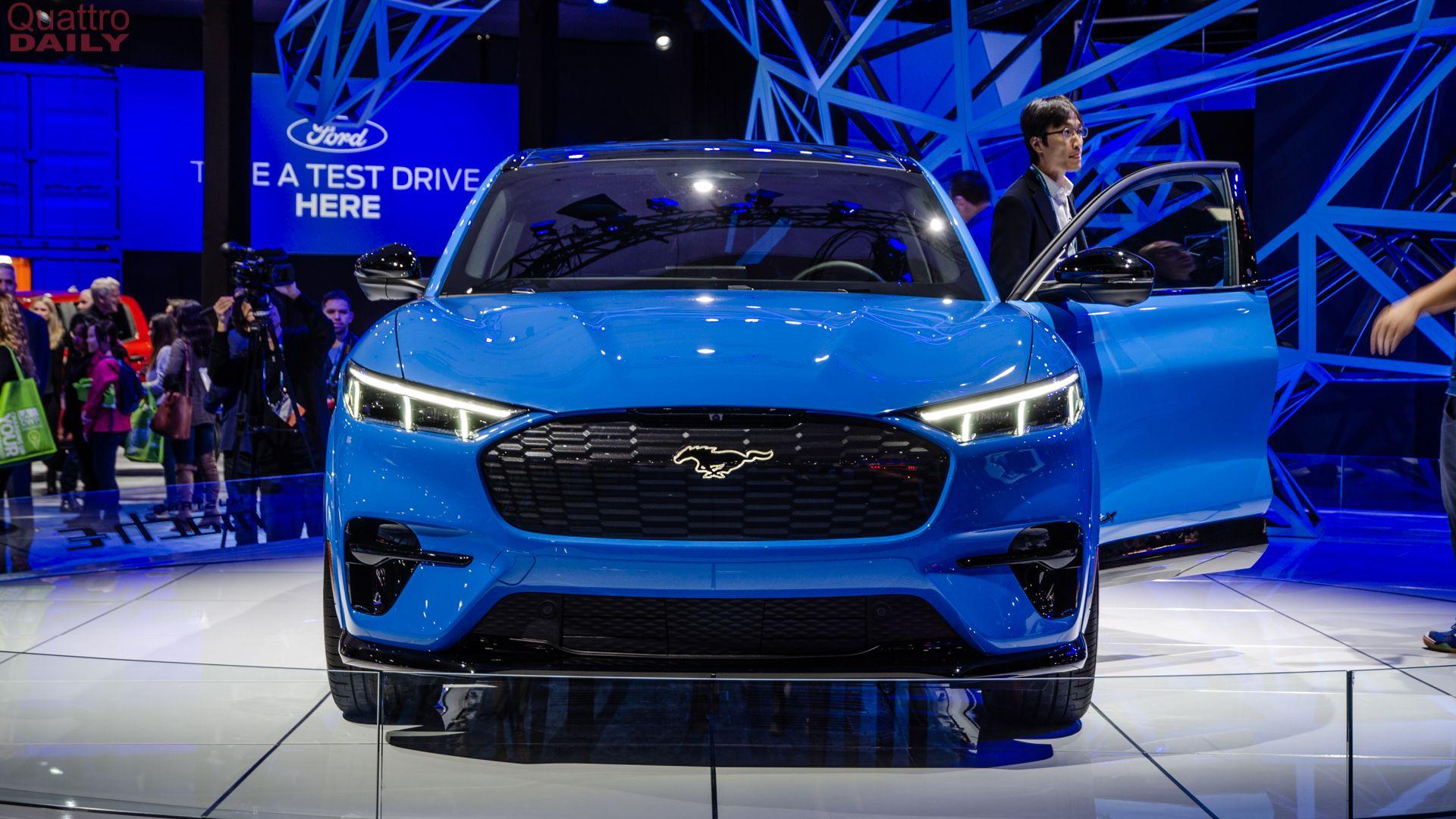 2019 La Auto Show Ford Mustang Mach E E Tron Sportback Fighter Ford Mustang Mustang New Ford Mustang