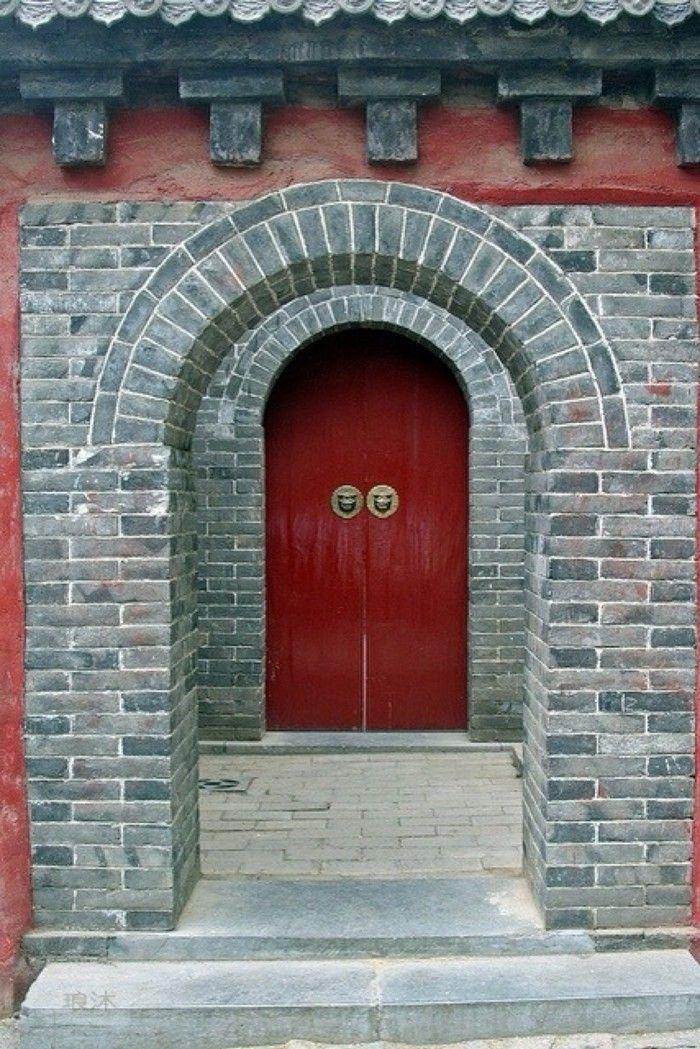 中國古建築——朱門a