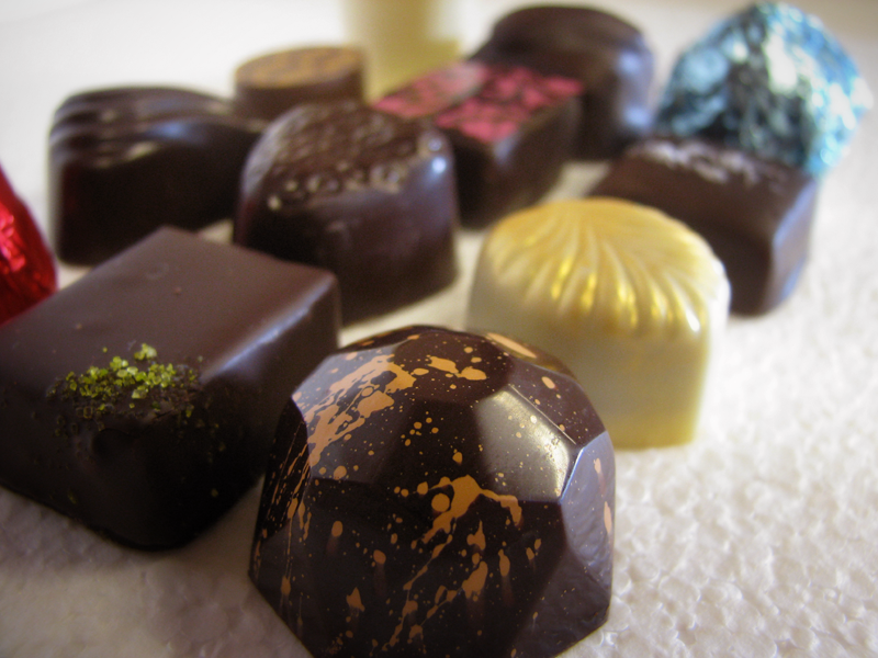 Lillie Belle Farms - Mixed Chocolates (Box of 12), $25.00 (http://www.lilliebellefarms.com/mixed-chocolates-box-of-12/)